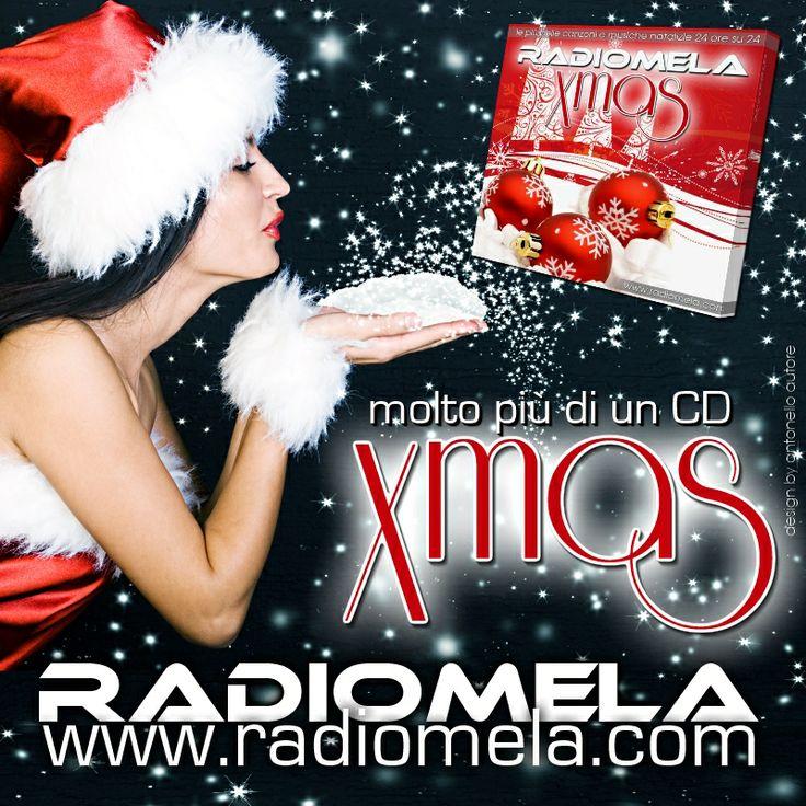 Sarà molto di più di un CD in Regalo!  RADIO MELA XMAS accenderà la tua Atmosfera Natalizia...  Dal 1 Dicembre Online su   http://www.radiomela.com  #webradio #xmas #christmastime #radiomela