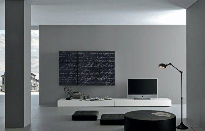 Walls Kunst in 75 Ideen für Salons der Wirkung und anderen Stil. #glass #wohnzi…