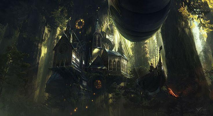 3rdART: concept art, environment,