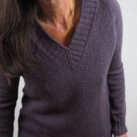 Пуловер реглан сверху спицами для женщин с описанием