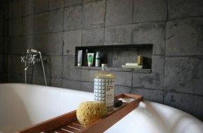 stoeptegels in de badkamer
