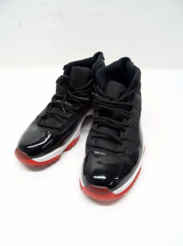 official photos 4ba51 93b58 2012 Jordan Retro XI 11 Bred Black Varsity Red White 378037-010 Sz12  P5 N6523