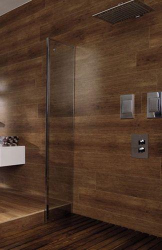 21 best wood tile shower images on pinterest | wood tile shower