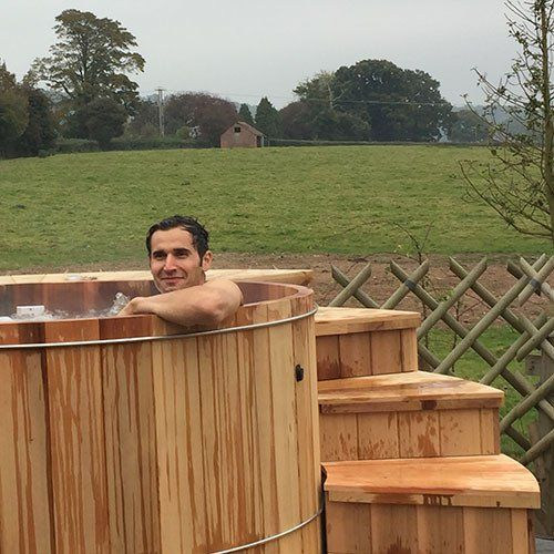 What is the appeal of the Cedar Wood Vitality Pool and what is so special about Cedar Wood?