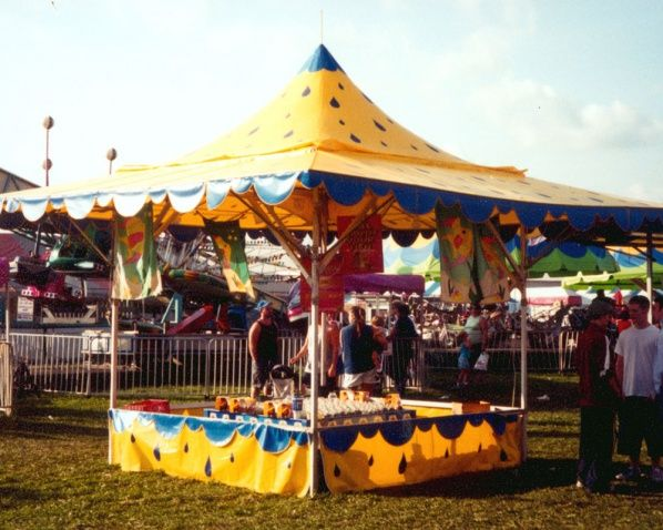 Outdoor Amusement Tents, Carnival Game Tents,  Concession Stand Tents by Anchor Industries