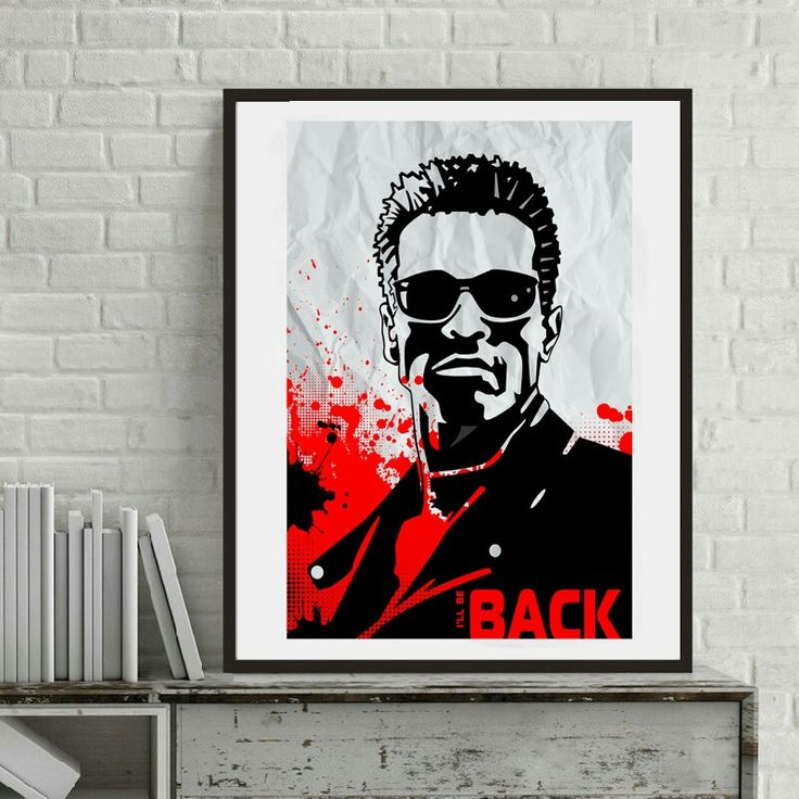 Poster Terminator, Terminator, Minimalist Terminator, Arnold Schwarzenegger, Poster Arnold Schwarzenegger, Poster Movie , Home Decor #etsy #art #drawing #gray #birthday #christmas #homedecor #newyear #artposter #black #movie #terminator #arnold #arnoldschwarzenegger #posterterminator http://etsy.me/2jCPH8H