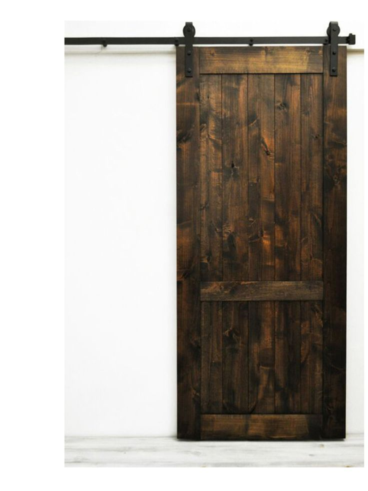 The Vintage Country Handmade Barn Door features a lightly distressed finish on a classic barn door design. This style is versatile, and fits well in almost, some assembly is required but never a confu