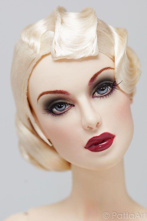 ART DECO #05.R93 doll wig Sybarite V1 V2 The Numina new JAMIEshow by Patta Art #PattaArt