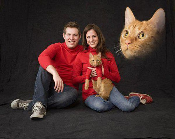 Ok, I love my pets . But, seriously?Christmas Cards, Christmas Pictures, Families Pictures, Christmas Portraits, Future Families, Families Photos, Families Portraits, Xmas Cards, Cat Memes