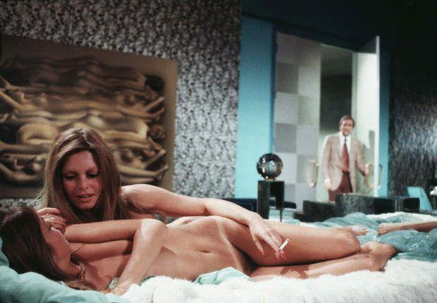 "Brigitte Bardot and Jane Birkin in ""Don Juan 73"" by Roger Vadim"