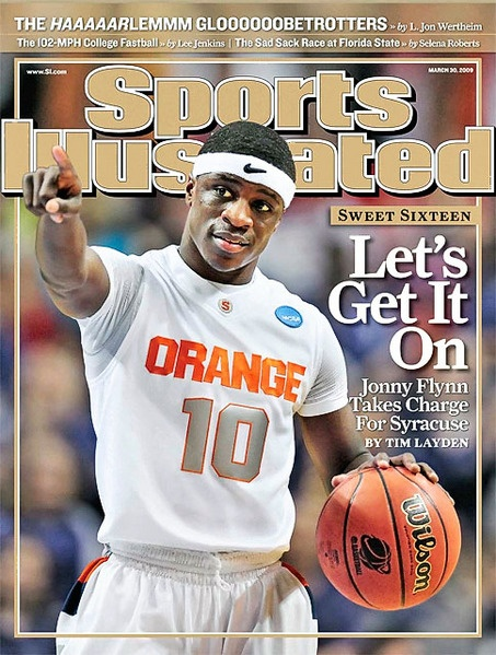 SU's Jonny Flynn graces cover f Sports Illustrated
