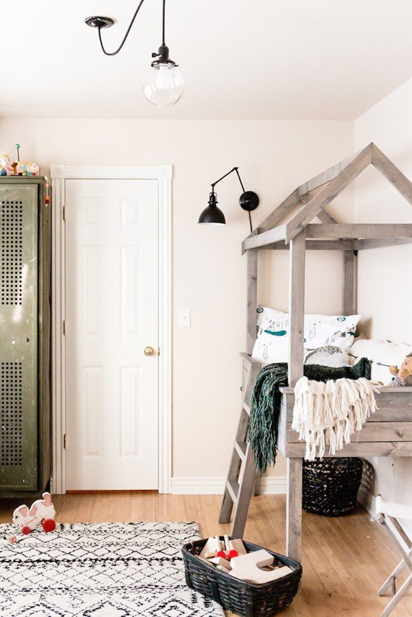 Creative Toddler Boy Room with a Vintage Touch - Petit & Small