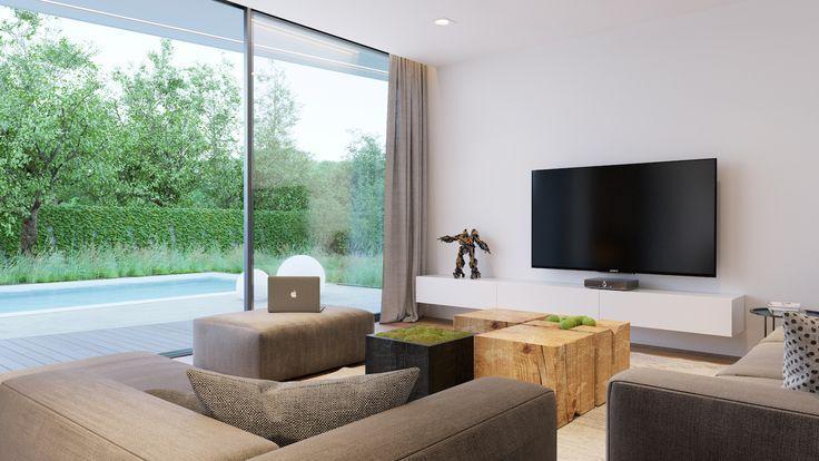 Presklená obývačka - Moderné spojenie s prírodou, MYDOM