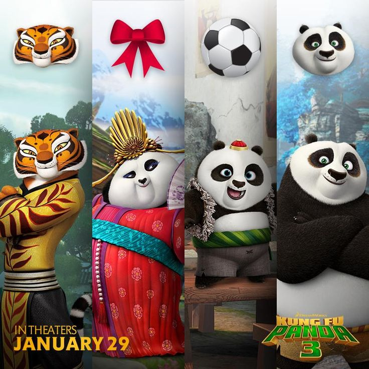who are you most excited to see next month kung fu panda - Kung Fu Panda Halloween