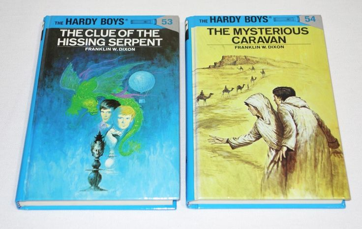 The Hardy Boys Hardcover Collectible Book Set 53 & 54 (Lot of 2 Books)