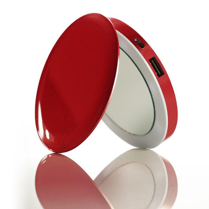 Hyperjuice Miroir batterie de secours 3000 mAh Rouge a 29,90 € sur lick.fr
