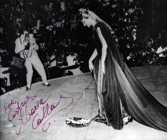 In 1962 in Epidaurus, the cornerstone of Greek Theaters, famous for its unique acoustics dominating the area with its presence through the centuries Maria Callas excelled in Medea  directed by Alexis Minotis and  costumes designed by Giannis Tsarouchis.