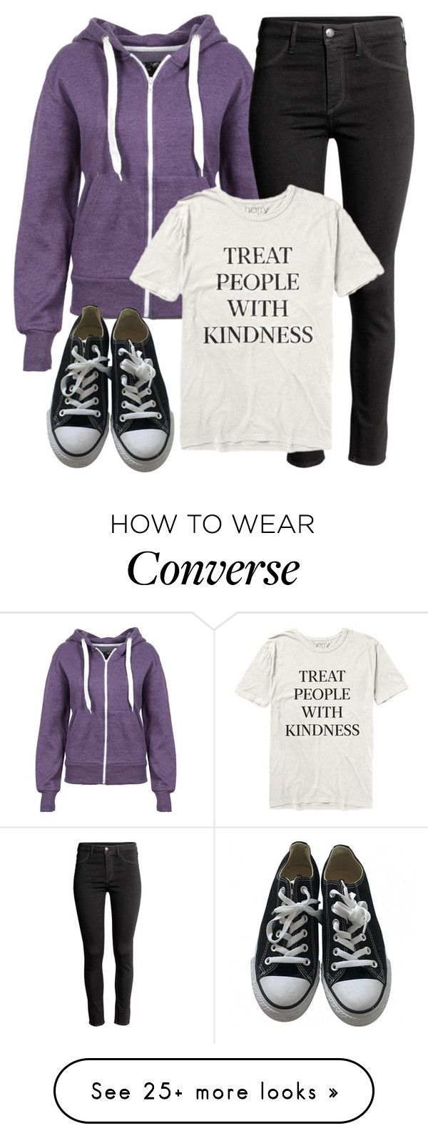"""Stiles Inspired Outfit - Teen Wolf"" by clawsandclothes on Polyvore featuring Converse"