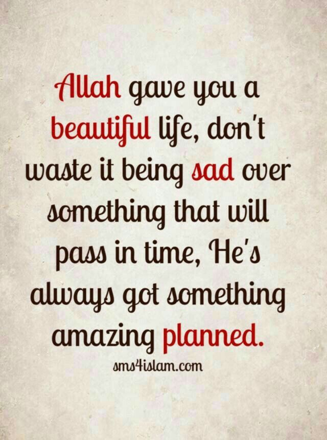 Every difficulty is followed by ease In•Shaa•Allah