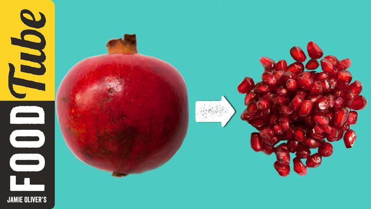 How To De-Seed A Pomegranate   Jamie's 1 Minute Tips