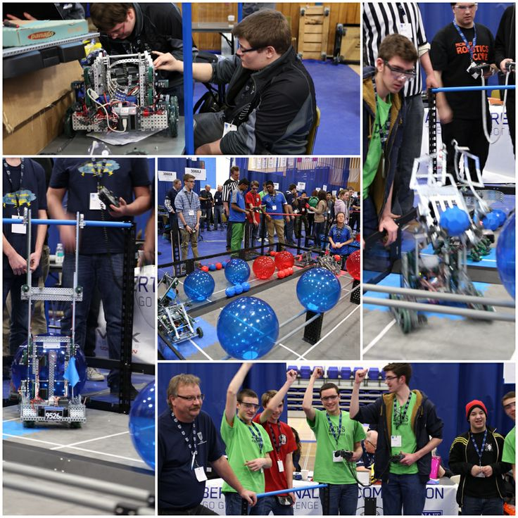 High school students from across Alberta were on campus for the VEX Robotics Competition! Students designed, assembled & programmed their robots to complete specific objectives. Great work! #NAIT #yeg #Edmonton #robots