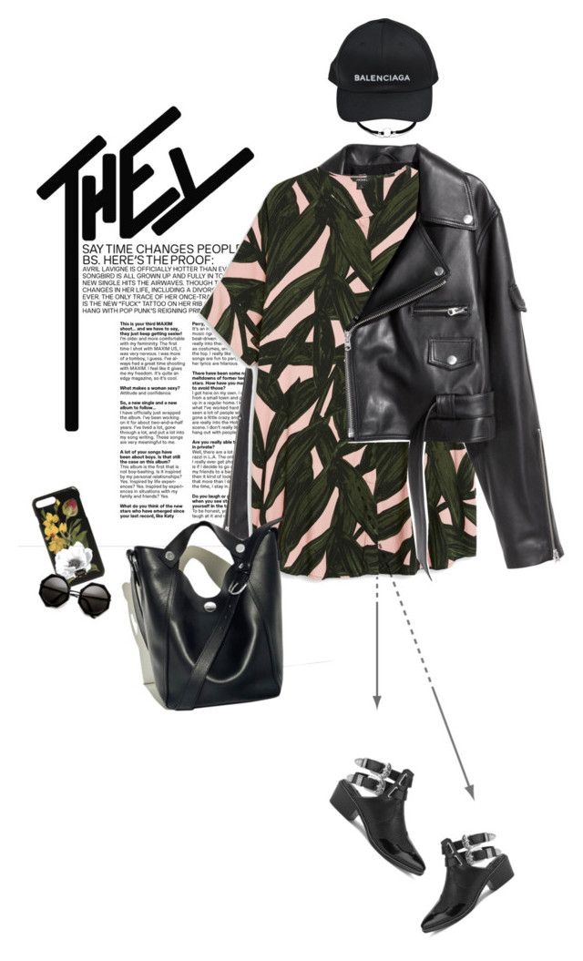 """""""Sin título #1651"""" by solespejismo ❤ liked on Polyvore featuring SKINN, Monki, Senso, Balenciaga, 3.1 Phillip Lim and Dolce&Gabbana"""