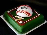 baseball cake idea