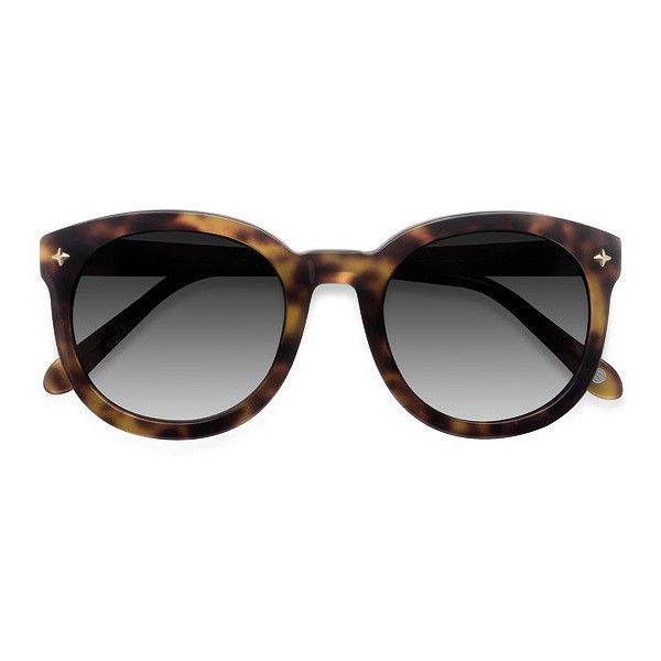 Women's Paige - Tortoise round - 16791 Rx Sunglasses ($49) ❤ liked on Polyvore featuring accessories, eyewear, sunglasses, glasses, round glasses, vintage sunglasses, round sunglasses, vintage eyewear and vintage round sunglasses