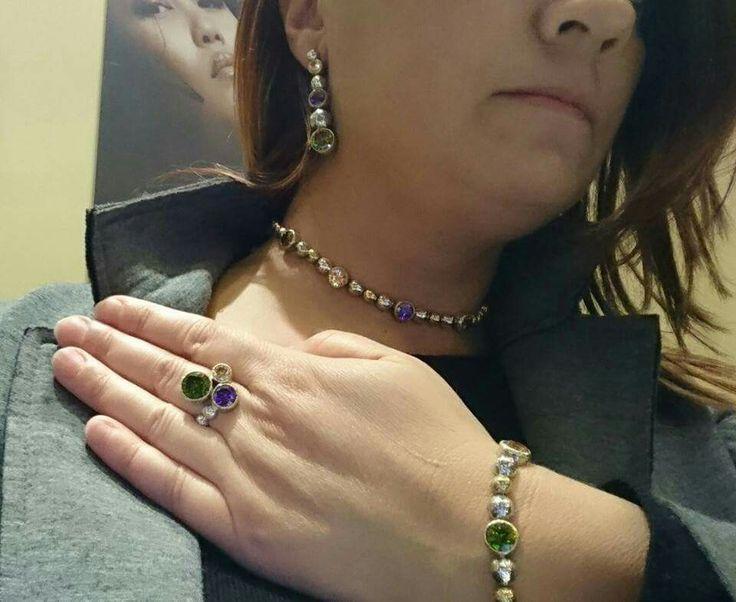 Miko' gioielli in argento 925 e pietre Facebook: gioielleria il diamante  www.gold-jewels-italy.com