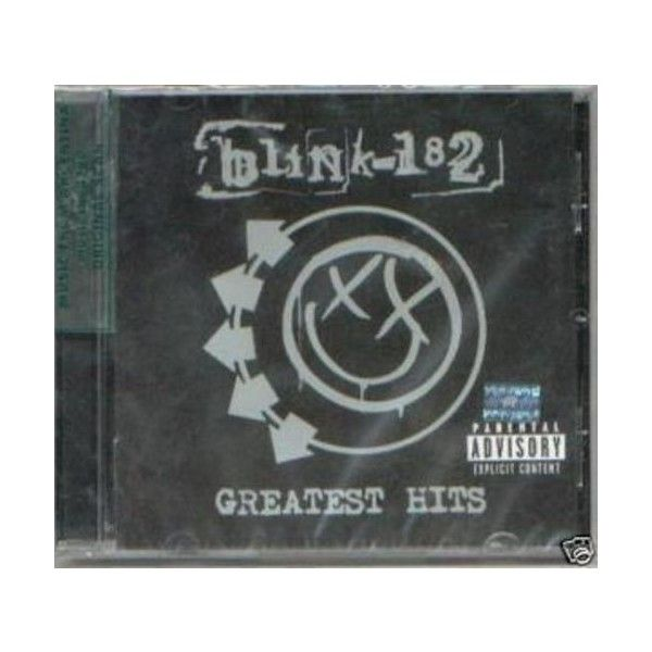BLINK 182 GREATEST HITS BONUS TRACK ❤ liked on Polyvore featuring fillers, music, other, cds and objects