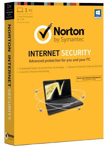 Cheap Norton Internet Security 2013 – 1 Computer, 1 Year Subscription (PC)  Order Now!  #freedelivery #discounts #onlineshopping #antivirus #norton #symantec