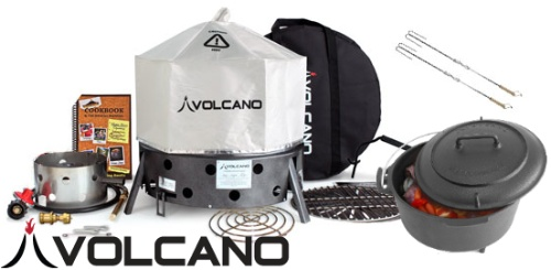 {Savory Summer Giveaway Hop} $345 Volcano Grills Total Package and Dutch Oven Giveaway http://www.measuringflower.com/2013/06/volcano-grills/#comment-21068