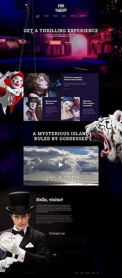 Entertainment •   Espresso Web Inspiration at your Coffee Break! Joomla  #58147 http://buff.ly/1rOtzXxent