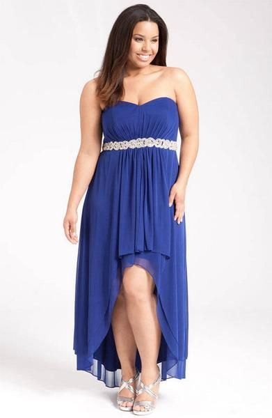 Fotos de vestidos de fiesta de noche para gorditas for Plus size wedding dresses size 32 and up