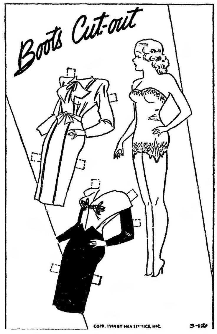 1247 best Paper Doll: Black and White images on Pinterest