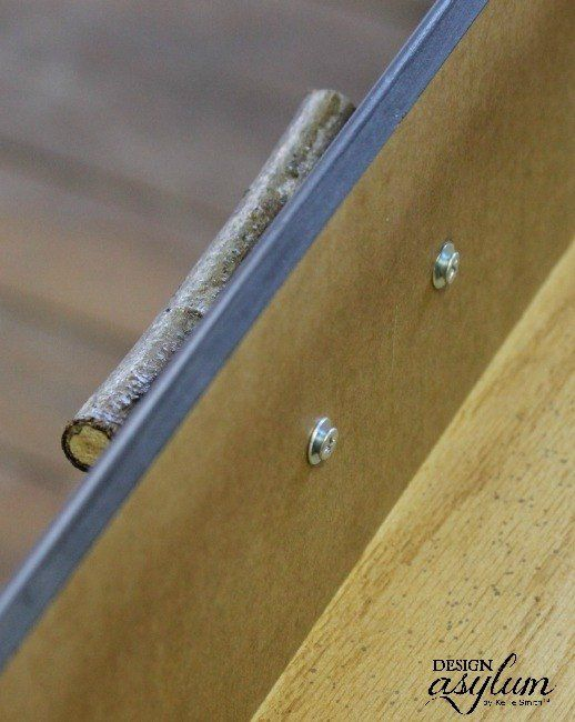 DIY: Furniture Handles From Tree Branches