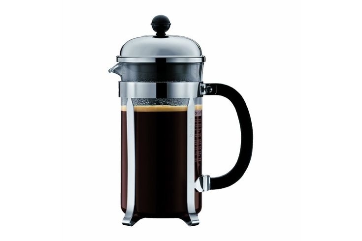This small coffee maker is a simple way to brew up your coffee. You only need hot water and (ground) beans. (So you need a coffee grinder too, or buy already ground, but still a great way to go).