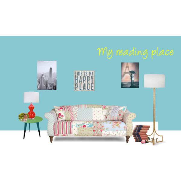 """""""My reading Place"""" by claudiabatiston on Polyvore"""
