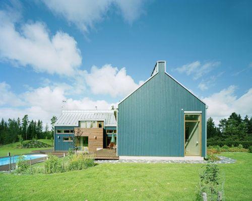 House Ulve in Finland by Lassila Hirvilammi Architects - Design Milk