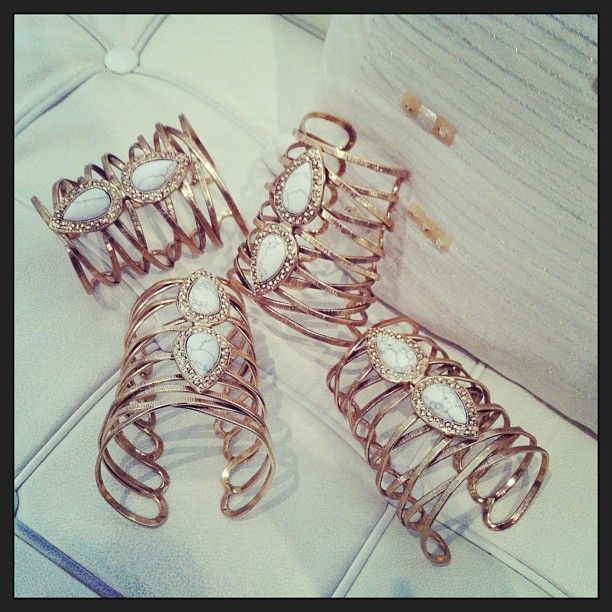 Gold Laced Up Cuffs @ Boxt Jewellery www.boxtjewellery.com.au