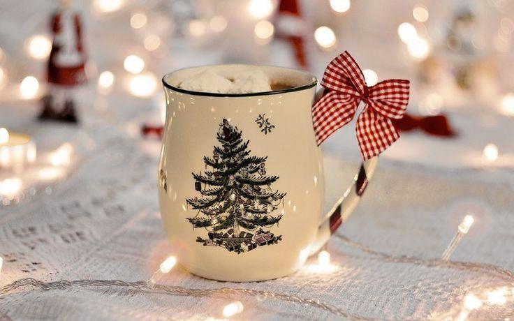 новогодняя чашечка