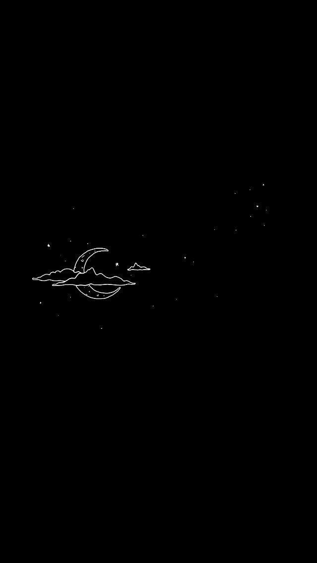 Wallpaper Tumblr – Hintergrund (der Mond und die Sterne: der wertvollste Besitz