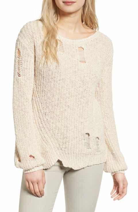 Pam & Gela Shredded Sweater