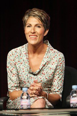Tamsin Greig from Episodes.
