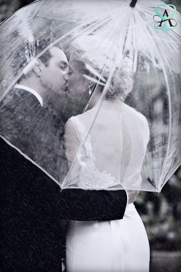 Wedding photo ideas bride and groom... MUST find clear umbrella because if it rains for my wedding I'm making the most of it! @cheryl ng ng