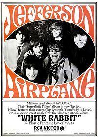 Jefferson Airplane - White Rabbit.  Amazing vocals by Grace Slick.