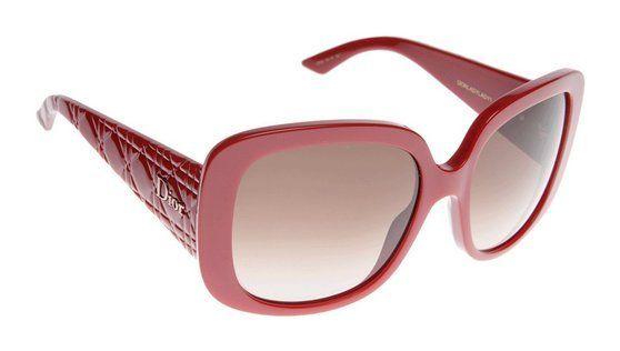 Dior EIF Red Lady Lady 1 Square Sunglasses #shoes #apparel #christiandior #sports_sunglasses #accessories #sunglasses #shops #women #departments