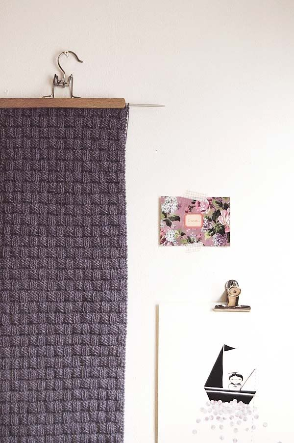 14 Best Images About Knitted Wall Hangings On Pinterest