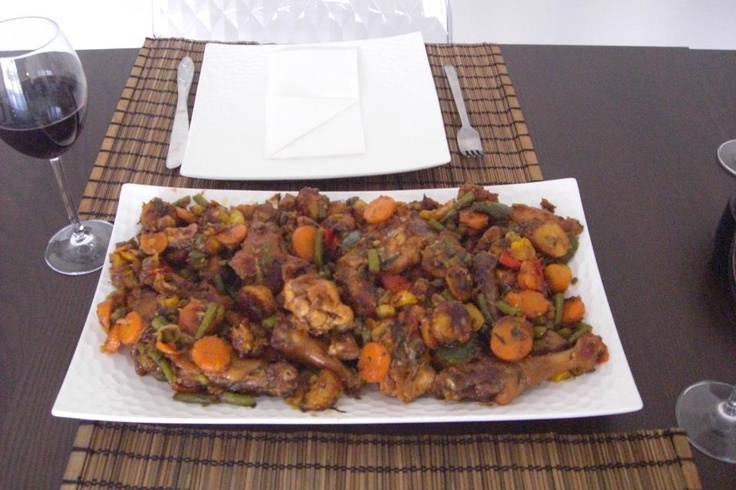 Poulet DG from Cameroon