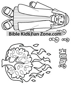moses burning bush coloring page - 25 best ideas about burning bush craft on pinterest